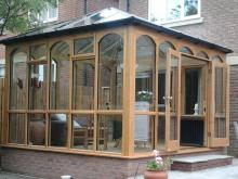 Oak Conservatory by Abels Joinery in Halifax and Huddersfield